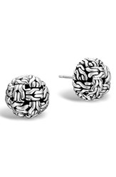 John Hardy Women's 'Classic Chain' Stud Earrings Sterling Silver