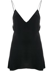 Iro Flared Camisole Top Black