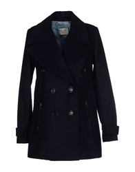Giorgia And Johns Coats Dark Blue