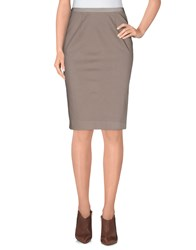 Fabiana Filippi Skirts Knee Length Skirts Women Dove Grey