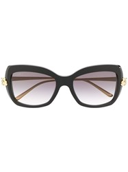 Cartier Oversized Frame Sunglasses 60