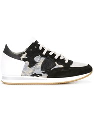 Philippe Model Camouflage Sneakers Black