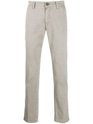 Jacob Cohen Regular Fit Chinos Grey