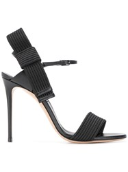 Casadei Julia Aiko Sandals Black
