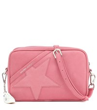 Golden Goose Star Leather Shoulder Bag Pink