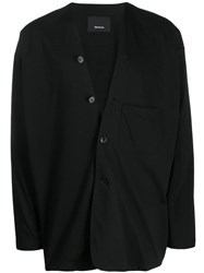 08Sircus Unstructured Blazer Black