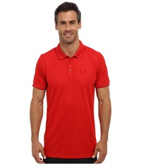 Oakley Standard Polo Red Men's Short Sleeve Pullover