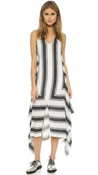Sass And Bide Aspens Shiver Dress Black White
