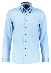 Olymp Level 5 Body Fit Shirt Blau Blue