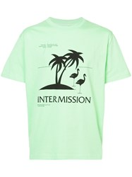 Second Layer Intermission T Shirt Cotton S Green