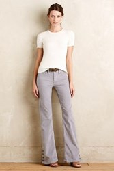 Anthropologie Pilcro Stet Corduroy Flares Light Grey 25 Pants