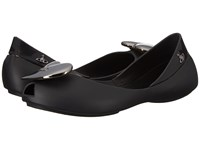 Vivienne Westwood Anglomania Melissa Queen Little Kid Big Kid Black 1 Women's Flat Shoes