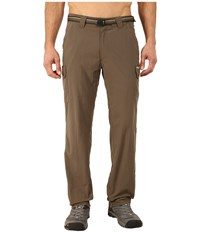 Exofficio Amphi Pants Cigar Men's Casual Pants Brown