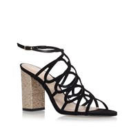 Kurt Geiger Hallie High Heel Sandals Black