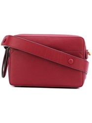Anya Hindmarch Circulus Crossbody Bag Women Leather One Size Red