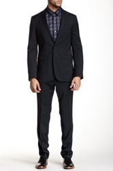 Tiger Of Sweden Norden Notch Lapel Wool Suit Blue