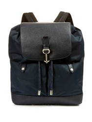 Mulberry Marty Leather Backpack Blue