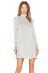 Lamade Penny Turtleneck Dress Gray