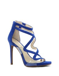Jessica Simpson Roelyn Open Toe Heels Blue