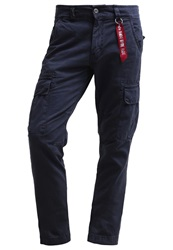 Alpha Industries Agent Cargo Trousers Rep. Blue Dark Blue