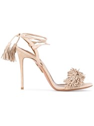 Aquazzura Wild Thing High Heel Sandals Nude And Neutrals