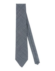 Alessandro Dell'acqua Accessories Ties Men Steel Grey