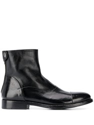 Alberto Fasciani Windy Ankle Books Black