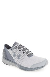 Under Armour Men's 'Charged Bandit 2' Running Shoe Overcast Gray Gravel Gravel