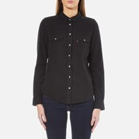 Levi's Women's Modern Western Shirt Black Ink