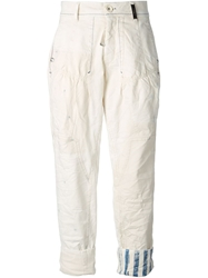High Trample Jeans White