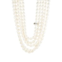 Cathy Waterman Women's Five Strand Pearl Necklace No Color