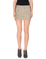 Nolita Mini Skirts Gold