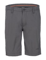 Jeep Cotton Chino Shorts Grey