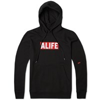 Alife Basic Stuck Up Hoody Black