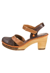 Art Amsterdam Platform Sandals Brown