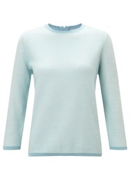 John Lewis Collection Weekend By Knit Jumper Pale Blue