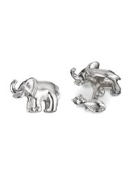 Robin Rotenier Elephant And Mouse Cuff Links