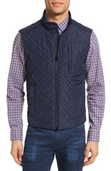 Pal Zileri Men's Quilted Nylon Field Vest