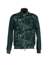 Jijil Coats And Jackets Jackets Men Green