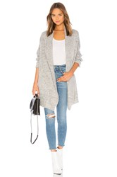 Lovers Friends Ribbed Cardigan Grey