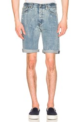 Levi's Premium 501 Cut Off Shorts Blue