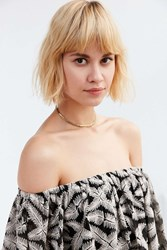 Urban Outfitters Milla Short Chain Necklace Gold