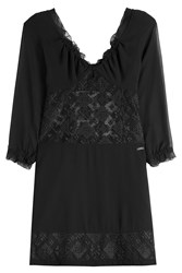 Just Cavalli Dress With Sheer Inserts Gr. It 40