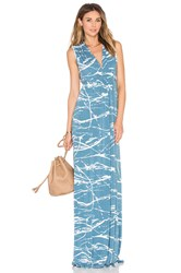 Rachel Pally Sleeveless Maxi Caftan Blue