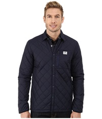 Penfield Courtland Quilted Shirt Jacket Navy Men's Coat