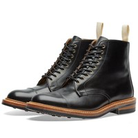 Tricker's End. X Toe Cap Boot Black