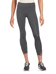 Andrew Marc New York Cotton Blend Crop Leggings