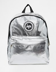 Hype Metallic Backpack Silver