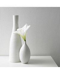 Graham And Brown Corduroy Paintable Wallpaper White
