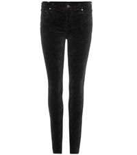 Citizens Of Humanity Rocket Velvet Skinny Trousers Black